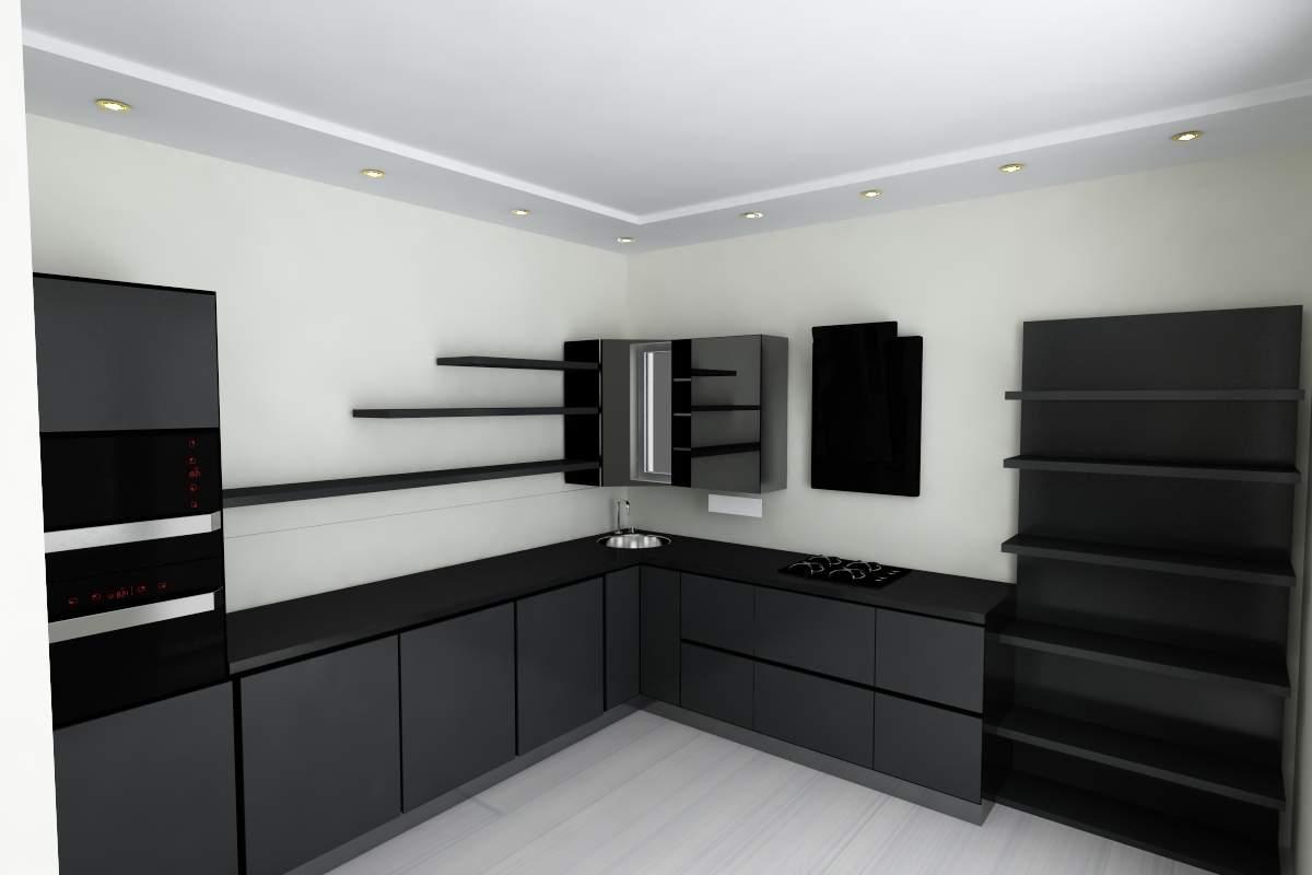 зонирование кухни-гостиной фото