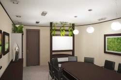 Дизайн переговорной. Интерьер переговорной. Дизайн интерьера офиса. Визуализация интерьера офиса.