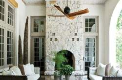 Камин в дизайне интерьера.