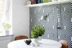 Обои на одну стену в дизайне интерьера.
