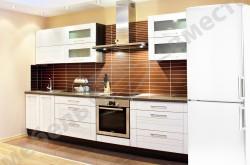 Белая кухня в дизайне интерьера.