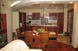 Зонирование интерьера кухни-гостиной