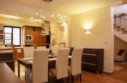 Освещение кухни-гостиной