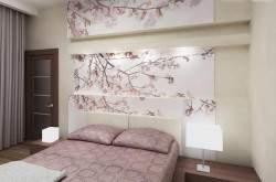 Декор стен. Украшение интерьера сакурой