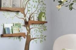 Декор стен. Украшение интерьера деревом