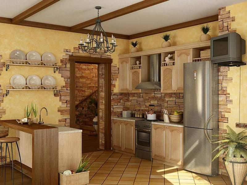 Кухня дизайн оформления