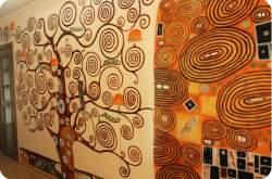 Декор стен. Украшение интерьера росписью