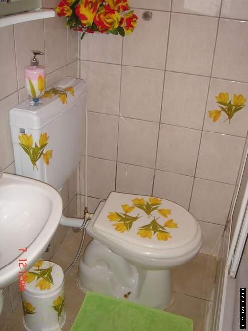 Как украсить ванную своими руками 9