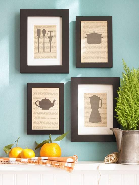Картины для интерьера кухни фото своими руками
