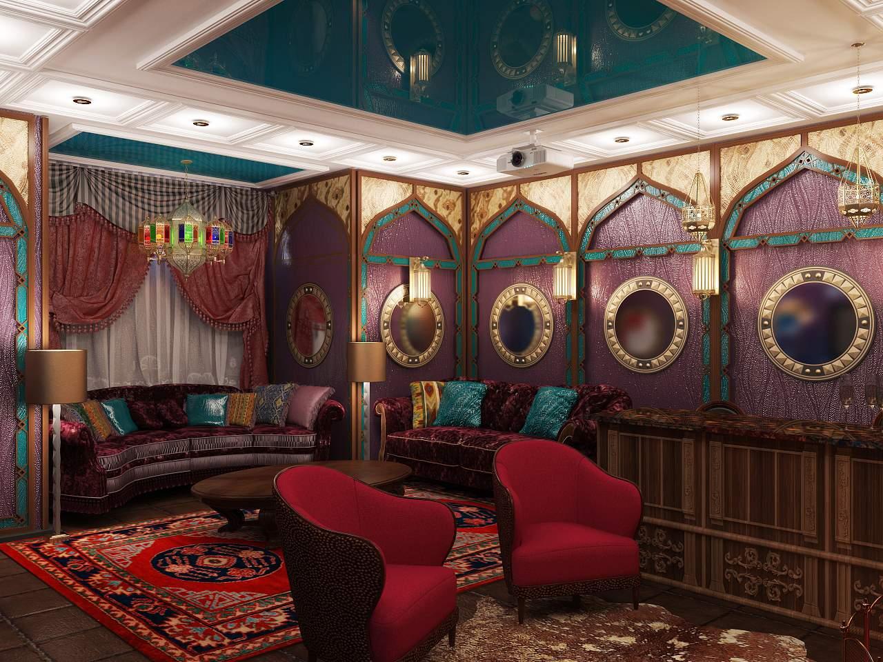 Дизайн комнаты отдыха фото