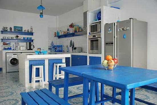 Греческий стиль в интерьере фото