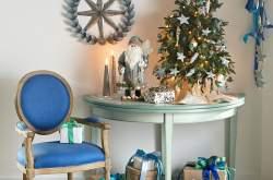 Интерьер на Рождество и Новый год фото