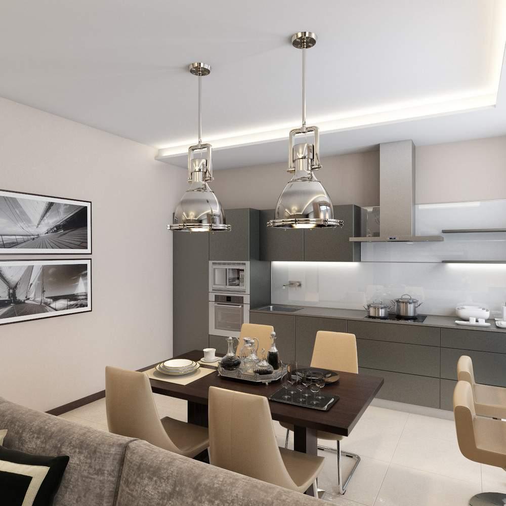 Интерьер современной кухни #60