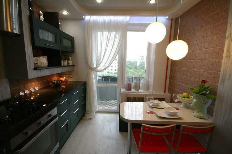 Дизайн кухни 9 кв м с диваном фото