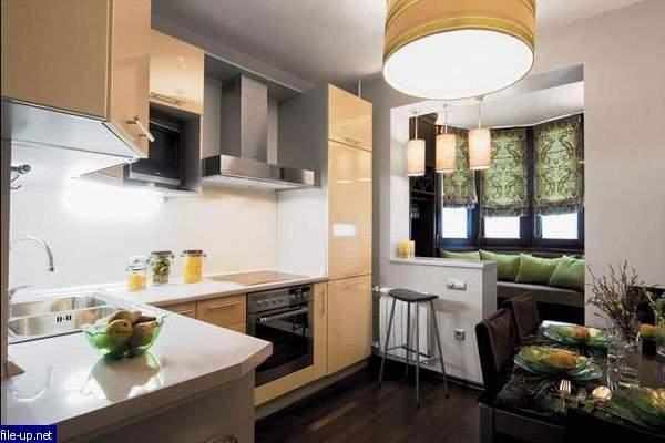 Дизайн кухни 9 кв м с балконом фото