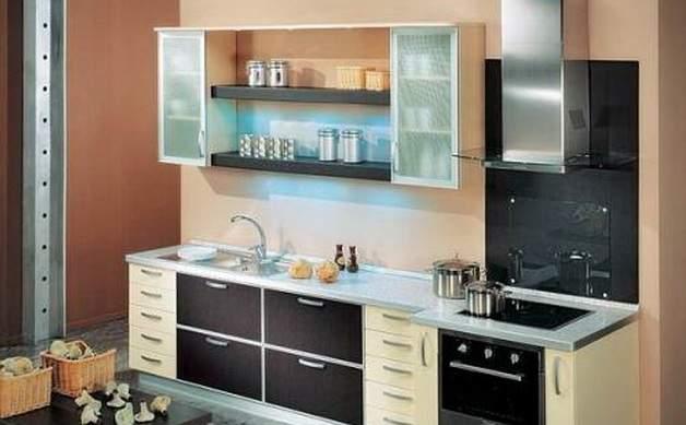 Дизайн кухни 9 кв м модерн фото