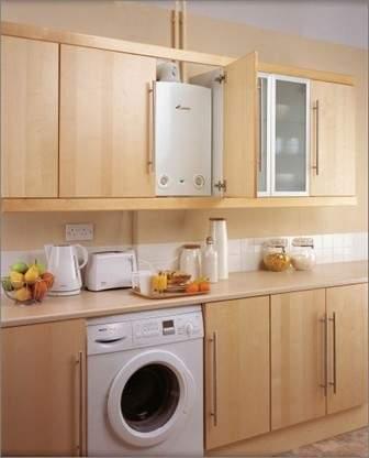 Дизайн кухни 9 кв м с газовой колонкой фото