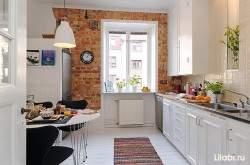 Дизайн кухни 9 кв м с окном фото