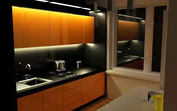 Дизайн кухни 9 кв с барной стойкой