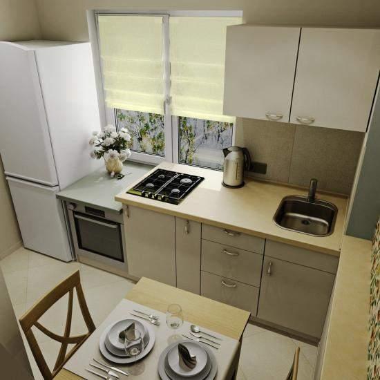 Дизайн кухни 9 кв м в хрущевке фото