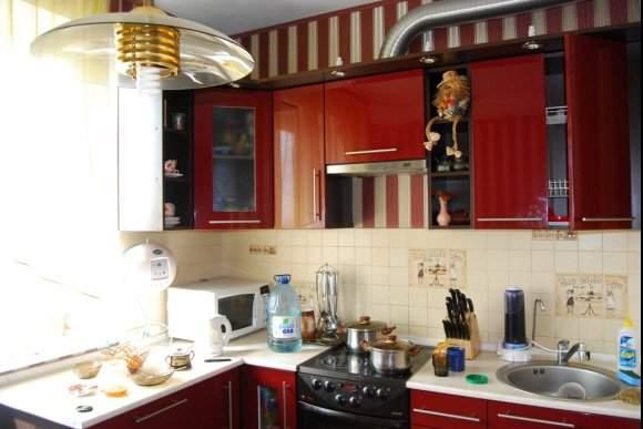 Дизайн кухни в панельном доме 5 кв. м