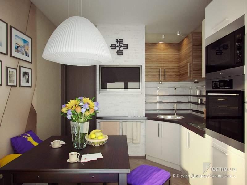 Кухня 9 кв.м в панельном доме дизайн