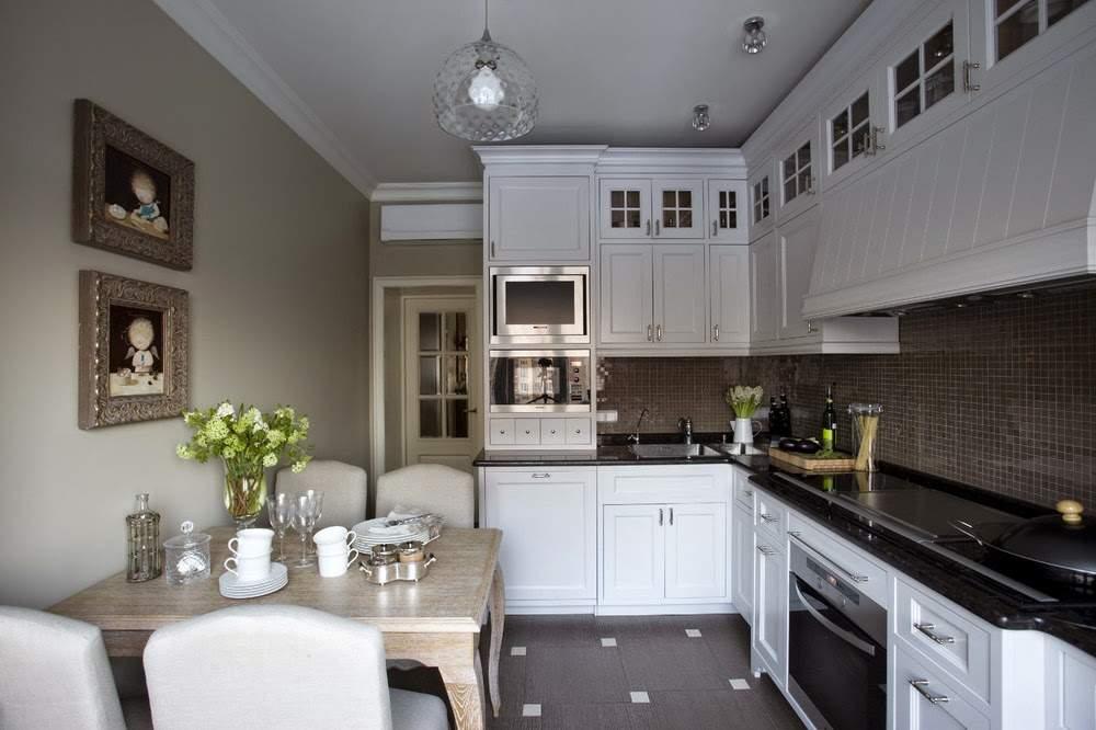 Дизайн кухни 2015 классика фото