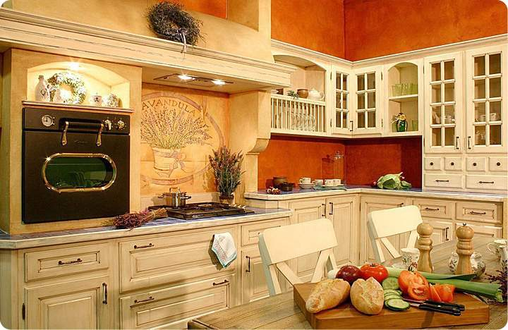 Дизайн кухни 2015 прованс фото