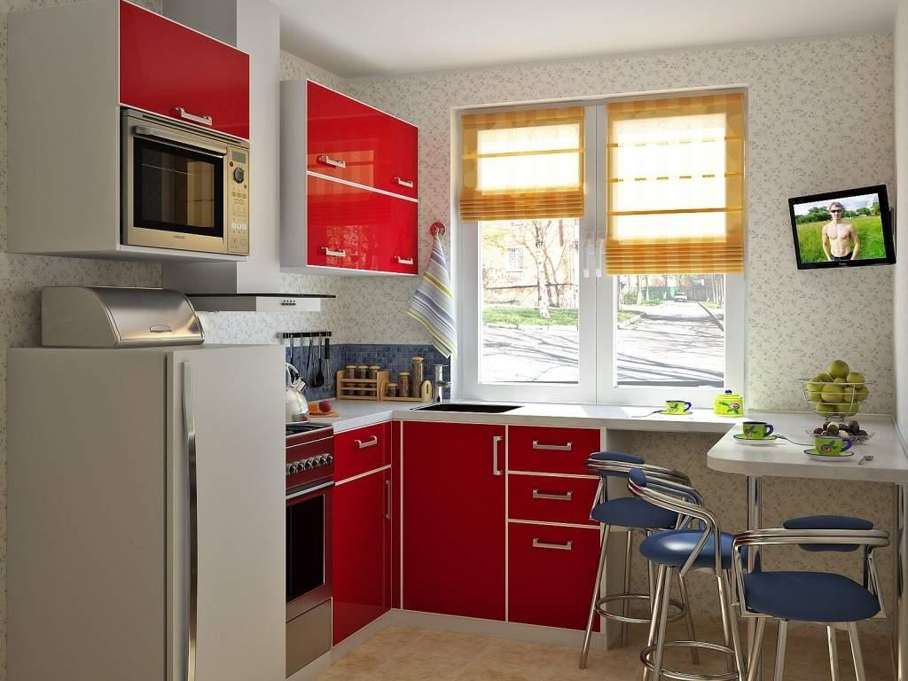 Дизайн маленькой кухни фото