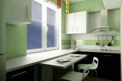 Дизайн маленькой кухни 4 кв м фото