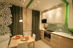 Дизайн маленькой кухни 9 кв м фото