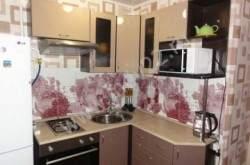 Дизайн маленькой угловой кухни фото