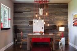 Деревянный интерьер квартир