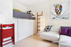 Дизайн квартиры студии 17 кв м фото