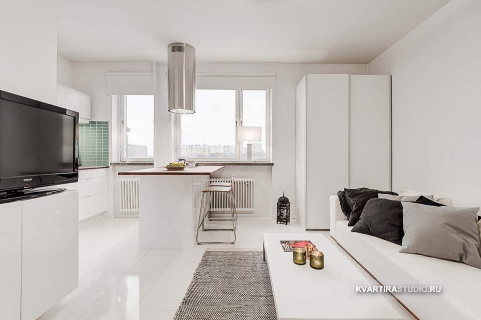 Дизайн квартиры Дизайн квартир-студий 23 кв.м