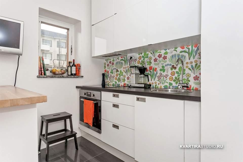 интерьер кухни 25 кв.м фото в частном доме