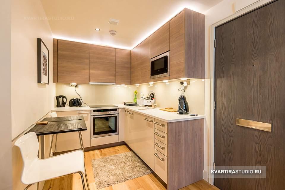 Дизайн квартиры студии 26 кв м фото