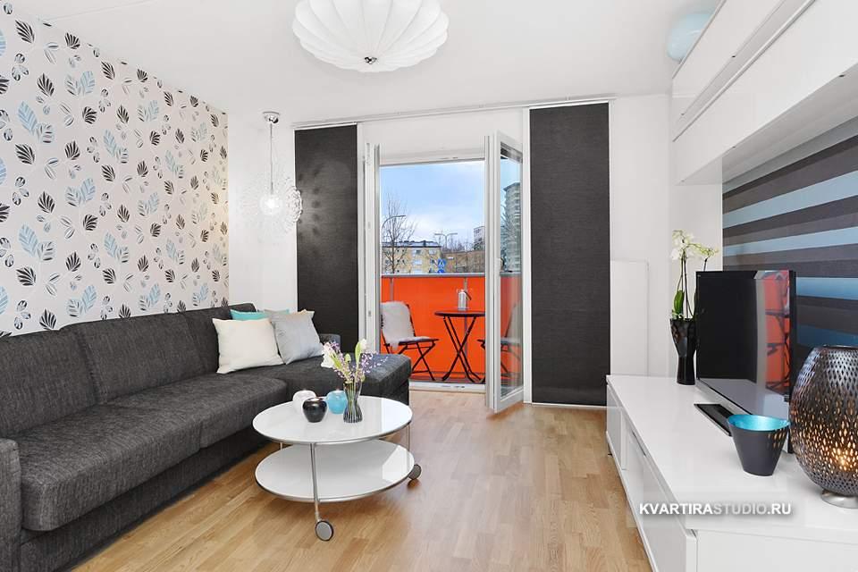 Дизайн квартиры 32 кв м
