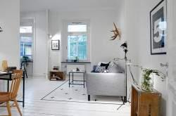 Дизайн квартиры студии 43 кв м фото