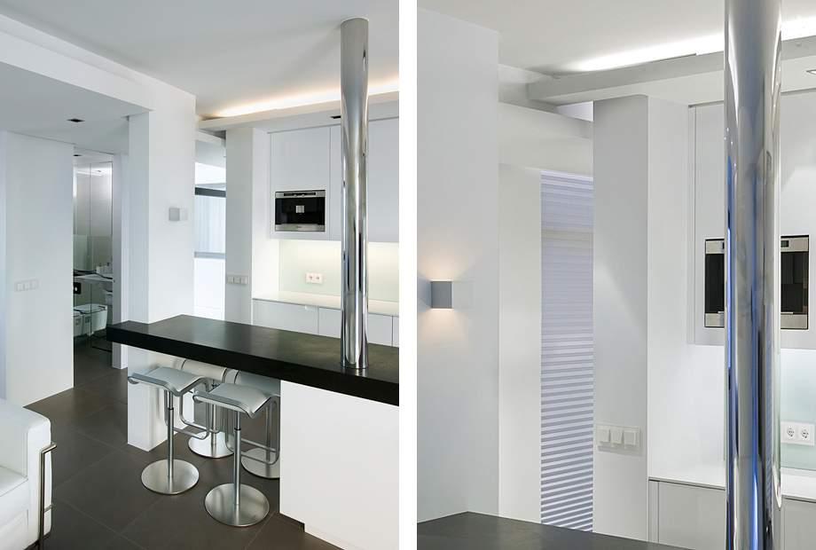 Дизайн квартиры студии 52 кв м фото