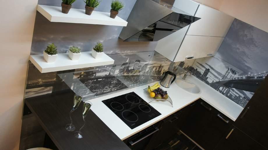 Дизайн ванны со стеклянными блоками