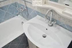 Небольшая ванная в классическом стиле - портфолио дизайнера интерьера