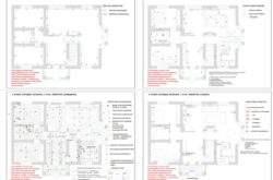 Дизайн-проект интерьера дома Минск - комплект чертежей