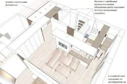 Недорогой дизайн-проект в Минске для выбора планировки 01