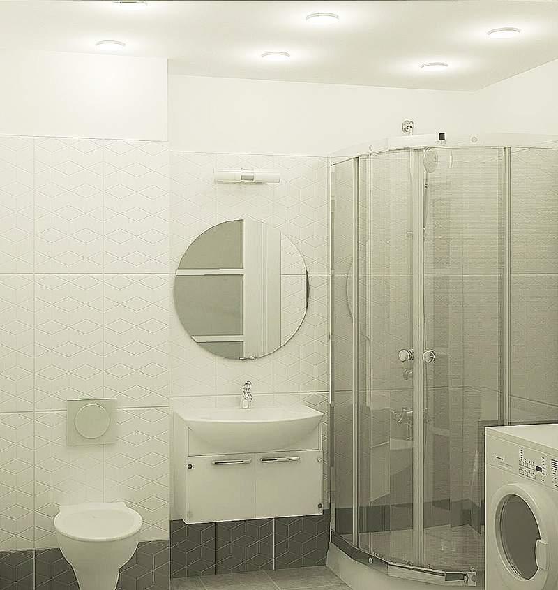 ванна вариант 1 – душ