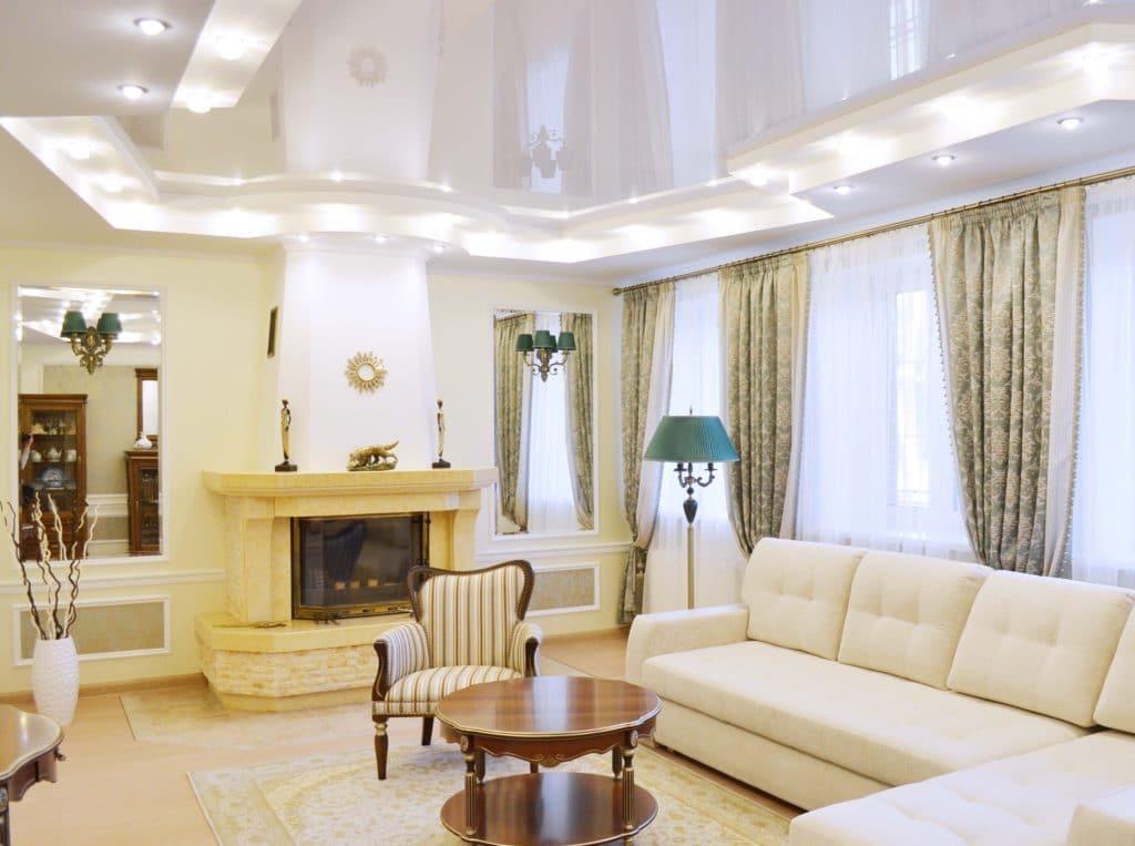 Дизайн интерьера дома в классическом стиле, Минск, Городище