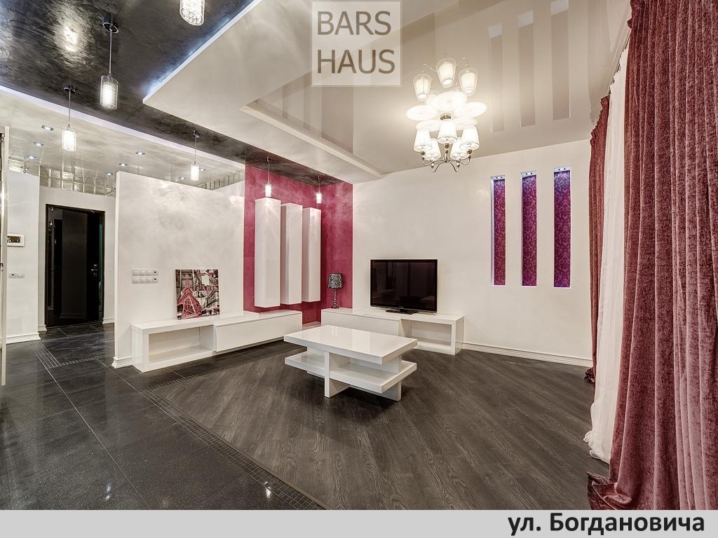 Дизайн интерьера квартиры, Минск, ул. Богдановича, в стиле минимализм