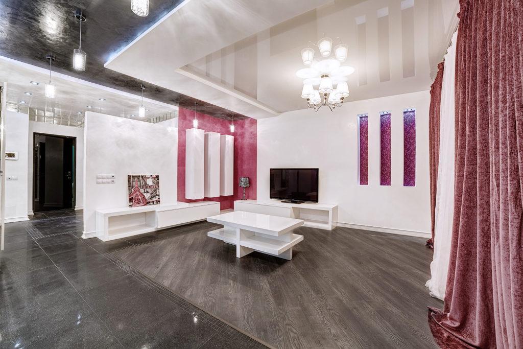 Дизайн интерьера квартиры, Минск, в стиле минимализм