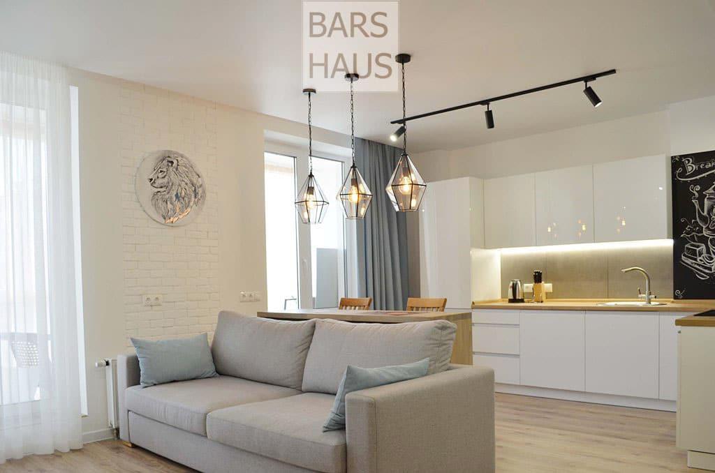 Дизайн современной квартиры в Минске - ЖК Маяк