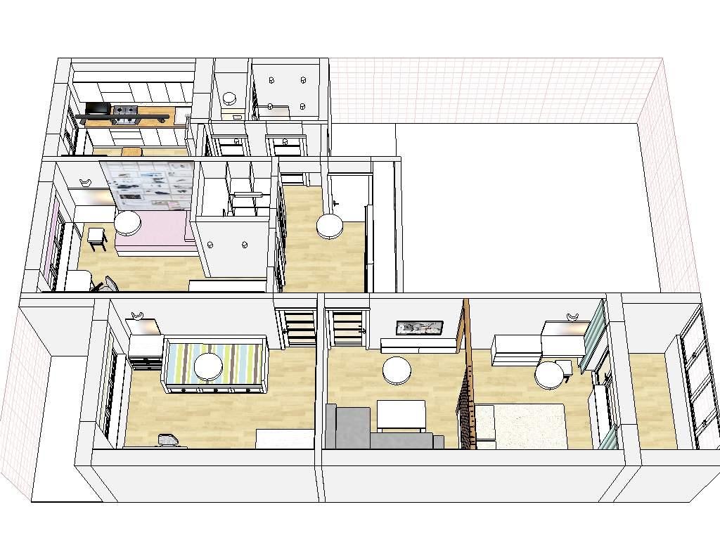 Дизайн интерьера квартиры в панельном доме, Минск, ул. Богдановича